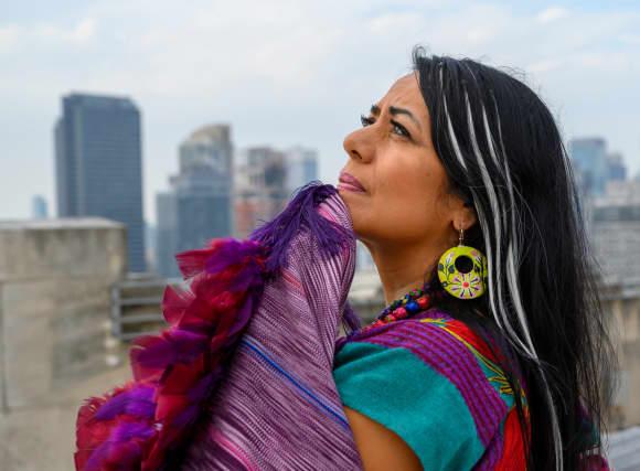 Lila Downs en el estreno de 'Al Chile' en Nueva York