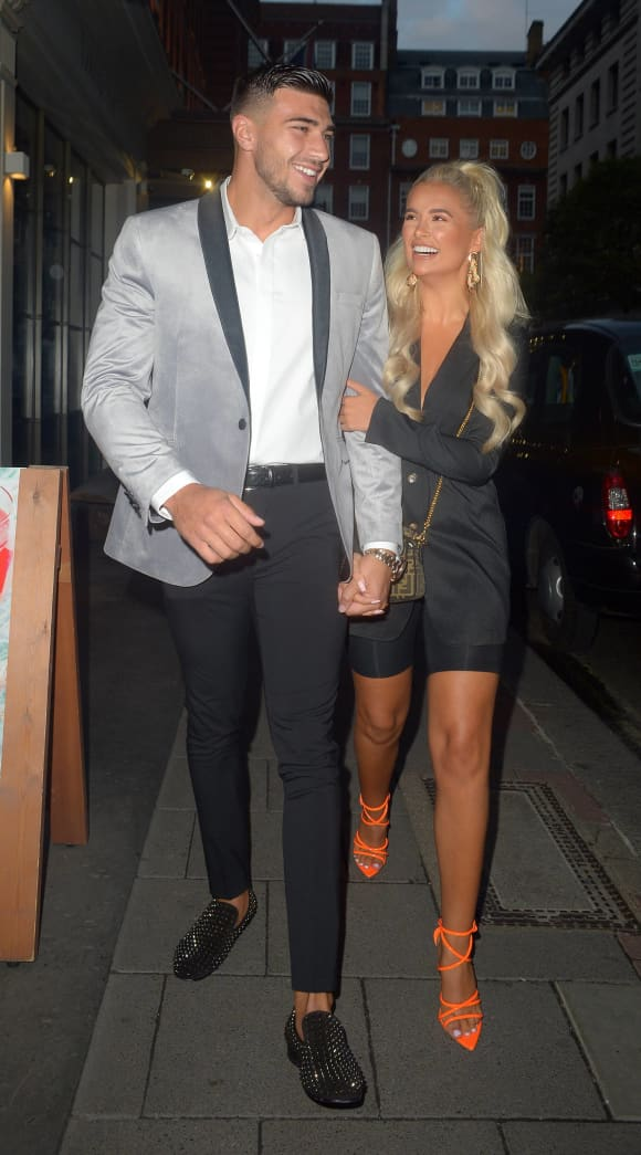 Tommy Fury and Molly-Mae Hague in London in 2019.