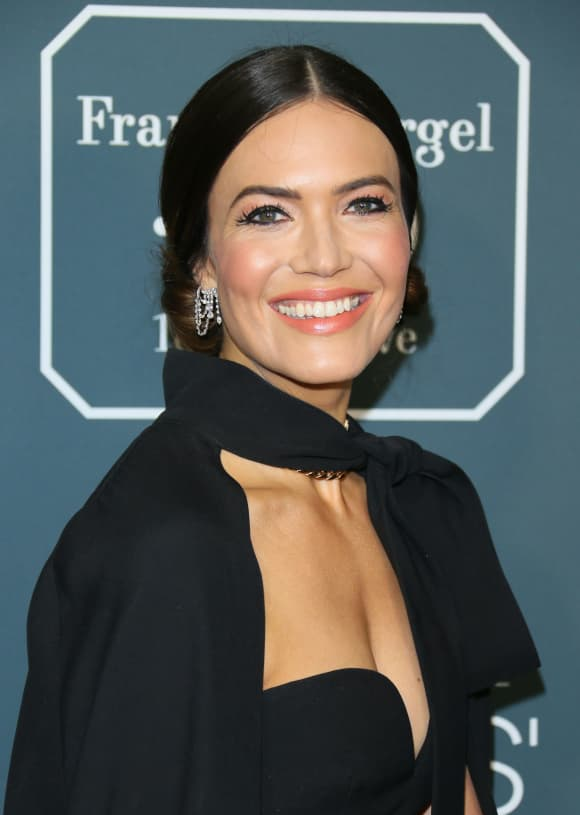 Mandy Moore arrives for the 25th Annual Critics' Choice Awards on January 12, 2020 in Santa Monica, California