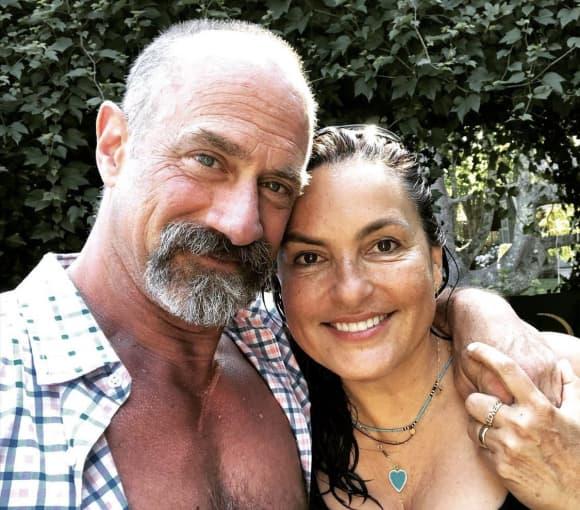 Mariska Hargitay y Christopher Meloni en 2020
