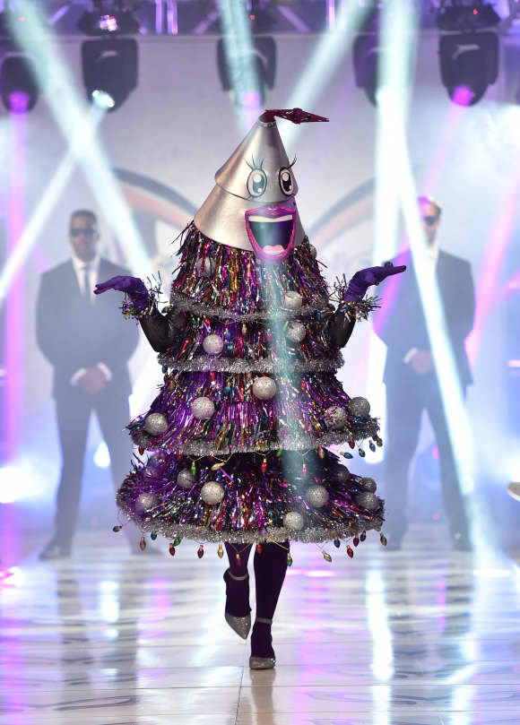 """The Tree"" participates in a runway show for the premiere of Fox's ""The Masked Singer"" Season 2 at The Bazaar at the SLS Hotel Beverly Hills on September 10, 2019"