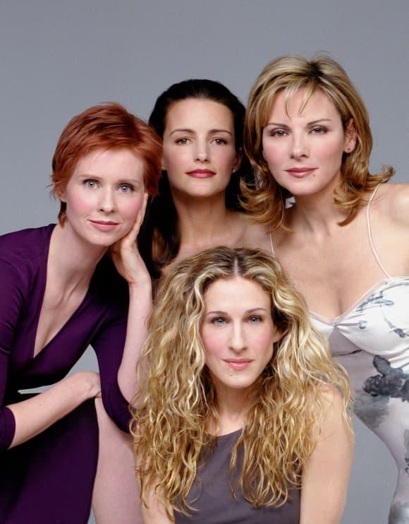 Cynthia Nixon, Kristin Davis, Kim Cattrall y Sarah Jessica Parker en una imagen promocional de la serie 'Sex and the City'