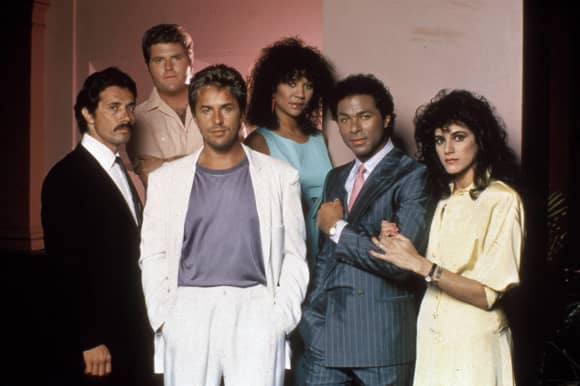 The Cast of 'Miami Vice'.