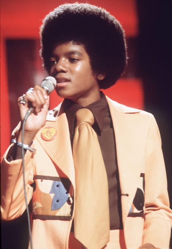 Michael Jackson on stage in 1970