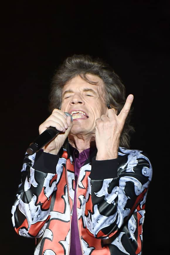 "Mick Jagger of ""The Rolling Stones"""