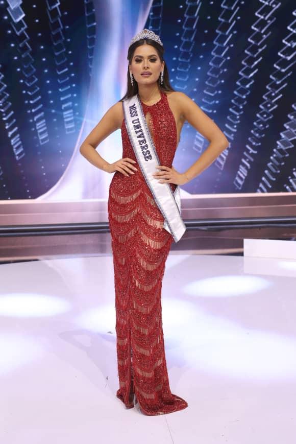 Andrea Meza, ganadora de Miss Universo 2021
