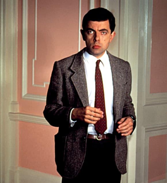 """Rowan Atkinson as """"Mr. Bean"""""""