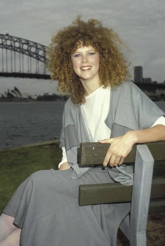 Nicole Kidman en Sydney en 1983