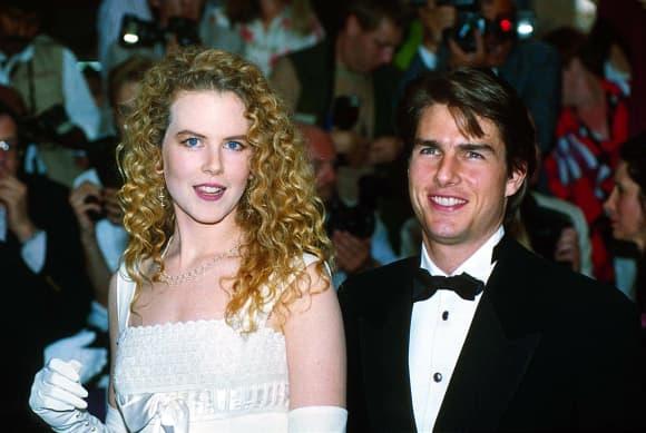 Nicole Kidman y Tom Cruise en 1992