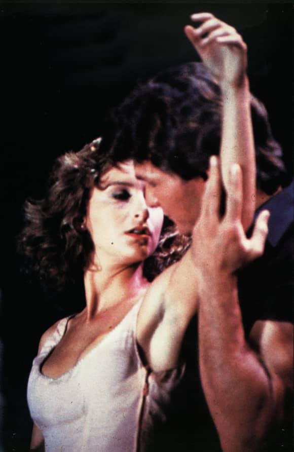 Jennifer Grey y Patrick Swayze en una escena de la película 'Dirty Dancing'