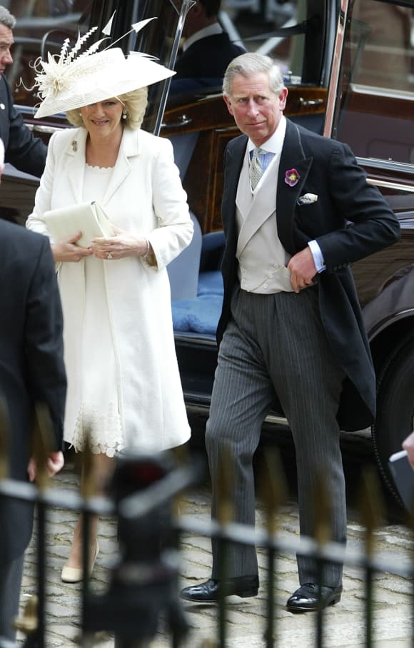 Prince Charles and Duchess Camilla in 2005