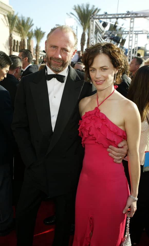 Xander Berkeley y Sarah Clarke