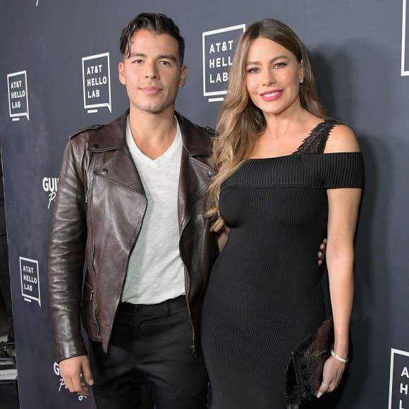 Sofía Vergara y su hijo Manolo González