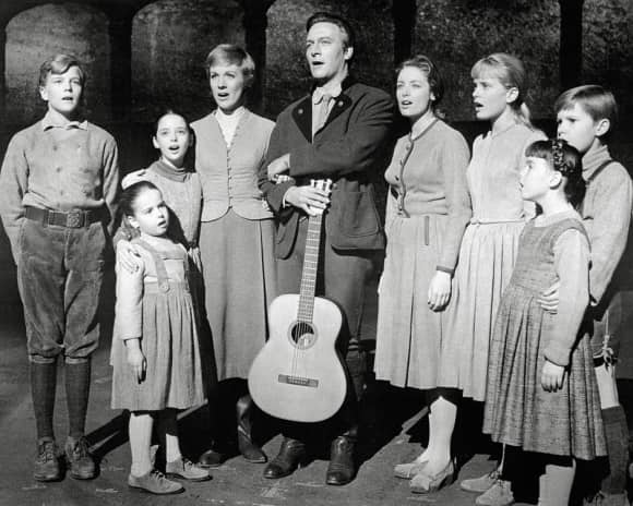 "The ""von Trapp"" family in The Sound of Music"