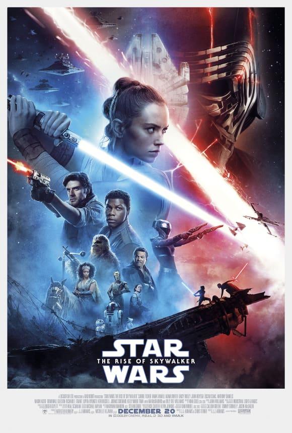 'Star Wars - The Rise of Skywalker' was released on December 20 2019.