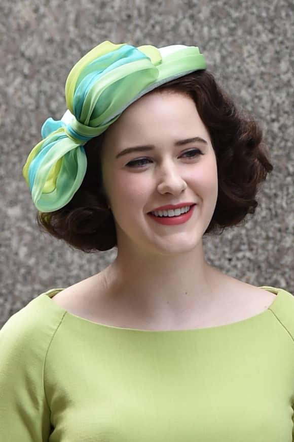 "Rachel Brosnahan como ""Miriam 'Midge' Maisel"" 'La maravillosa Sra. Maisel'"