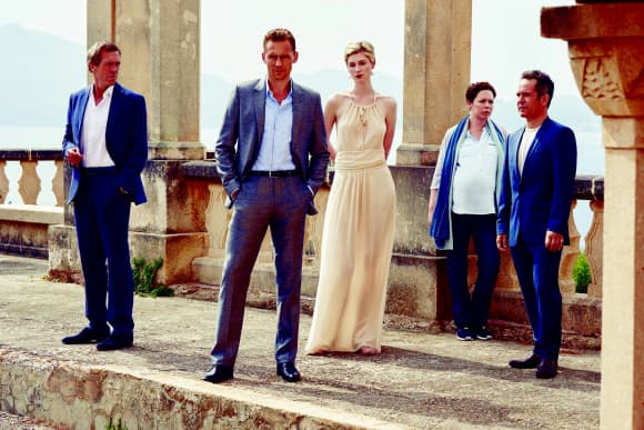 The Cast of 'The Night Manager'.