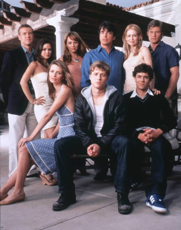The cast of 'The O.C.'