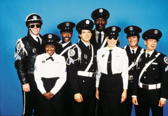 The 'Police Academy Cast' 1984