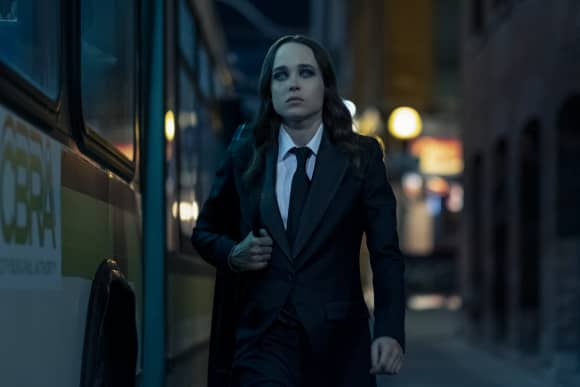 Ellen Page in 'The Umbrella Academy'.