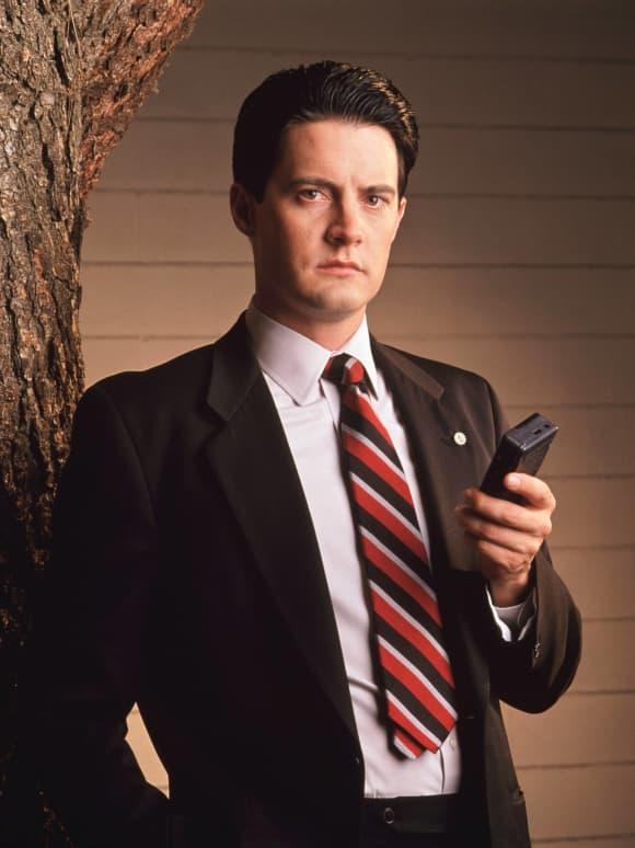 Kyle MacLachlan in 'Twin Peaks'.